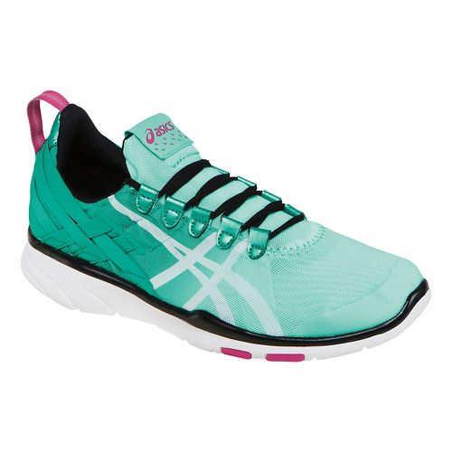 Womens ASICS GEL-Fit Sana Cross Training Shoe - Mint/White 8