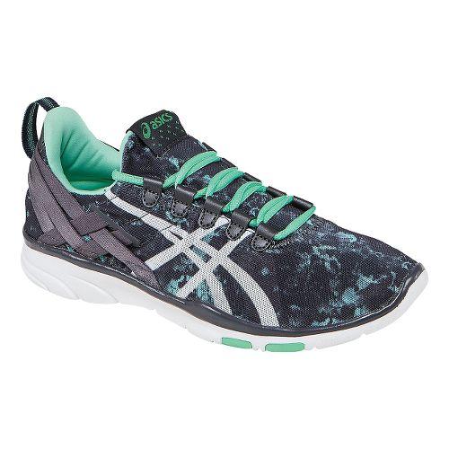 Womens ASICS GEL-Fit Sana Cross Training Shoe - Aqua Mint/Black 12