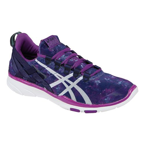 Womens ASICS GEL-Fit Sana Cross Training Shoe - Sparkling Grape/White 5