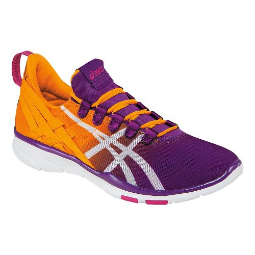 Womens ASICS GEL-Fit Sana Cross Training Shoe - Purple/Nectarine 8.5
