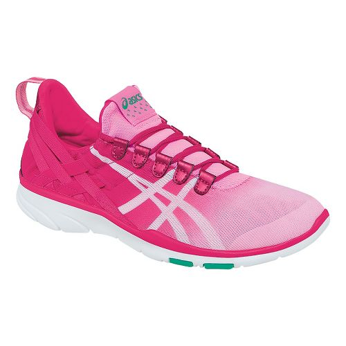 Womens ASICS GEL-Fit Sana Cross Training Shoe - Pink/White 6.5