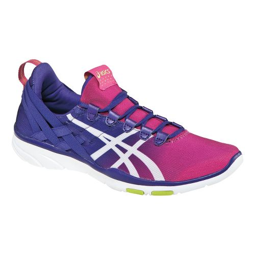 Womens ASICS GEL-Fit Sana Cross Training Shoe - Hot Pink/Grape 10