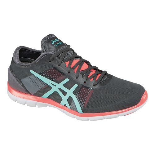 Womens ASICS GEL-Fit Nova Cross Training Shoe - Grey/Mint 10.5