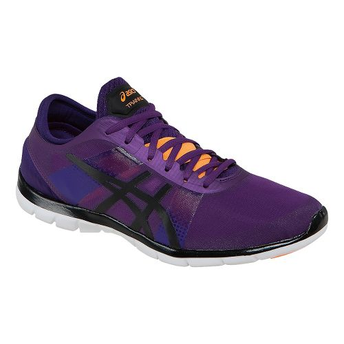 Womens ASICS GEL-Fit Nova Cross Training Shoe - Purple/Onyx 6.5
