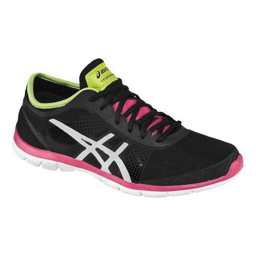 Womens ASICS GEL-Fit Nova Cross Training Shoe - Black/Pink 7.5
