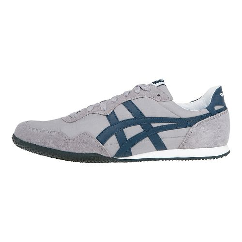 ASICS Serrano Casual Shoe - Light Grey/Blue 10.5
