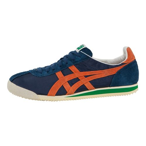 ASICS Tiger Corsair Casual Shoe - Navy/Orange 9
