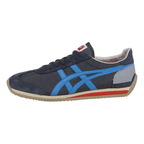 ASICS California 78 Casual Shoe - Dark Grey/Blue 12.5
