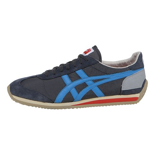 ASICS California 78 Casual Shoe - Dark Grey/Blue 8.5