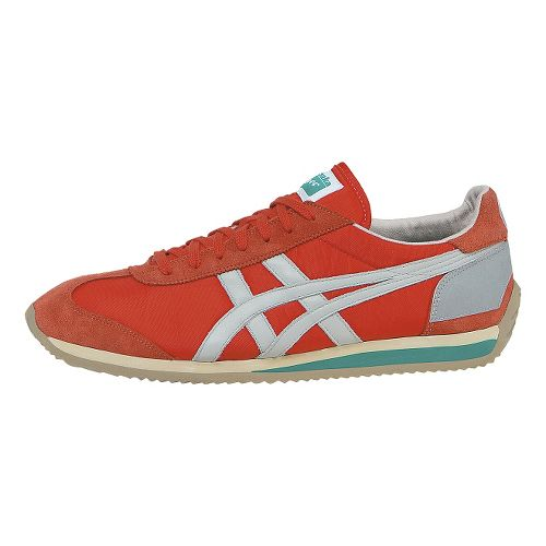 ASICS California 78 Casual Shoe - Red/Grey 12.5