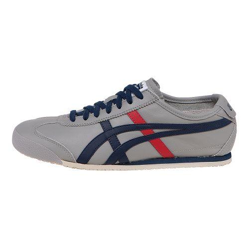 ASICS Mexico 66 Casual Shoe - Light Grey/Navy 12.5