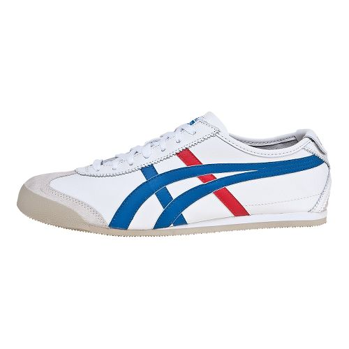 ASICS Mexico 66 Casual Shoe - White/Blue 5.5
