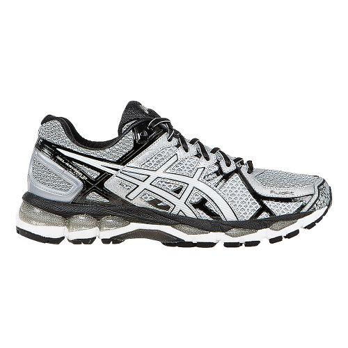 Mens ASICS GEL-Kayano 21 Running Shoe - Lightning/Black 7.5