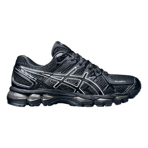 Mens ASICS GEL-Kayano 21 Running Shoe - Black/Black 15