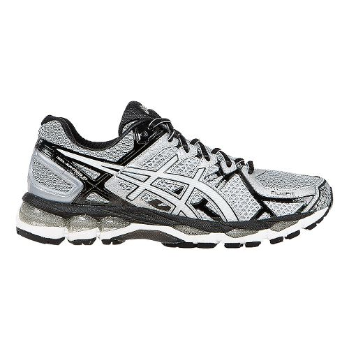 Mens ASICS GEL-Kayano 21 Running Shoe - Grey/Black 10.5