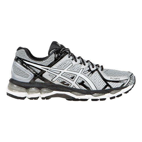 Mens ASICS GEL-Kayano 21 Running Shoe - Grey/Black 9.5