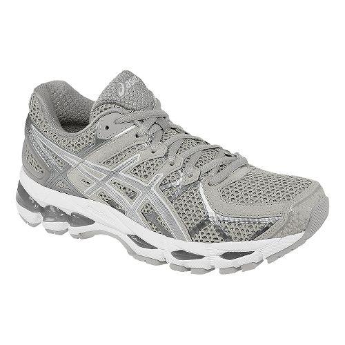 Womens ASICS GEL-Kayano 21 Running Shoe - Vanilla Ice/White 10