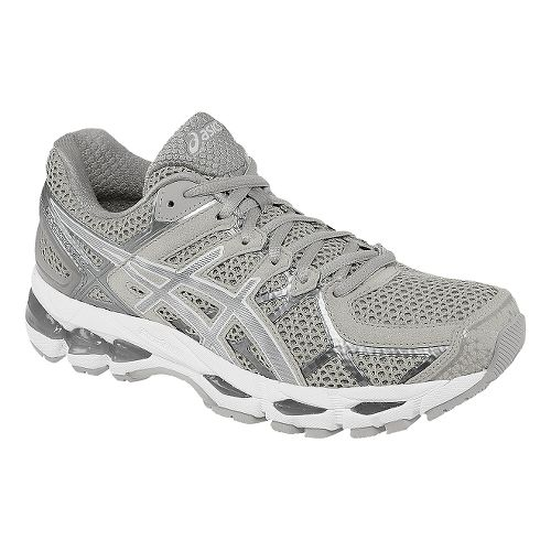 Womens ASICS GEL-Kayano 21 Running Shoe - Vanilla Ice/White 12.5