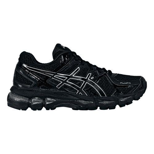 Womens ASICS GEL-Kayano 21 Running Shoe - Black/Black 12