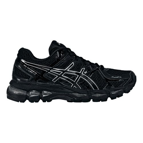 Womens ASICS GEL-Kayano 21 Running Shoe - Black/Black 5