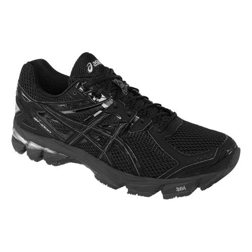 Mens ASICS GT-1000 3 Running Shoe - Black/Onyx 14