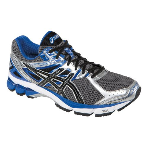 Mens ASICS GT-1000 3 Running Shoe - Lightning/Black 14