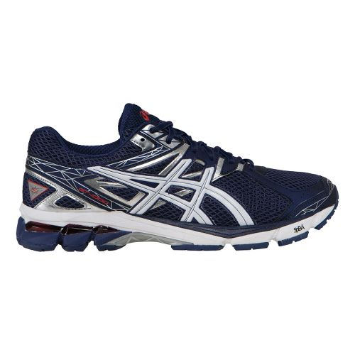 Mens ASICS GT-1000 3 Running Shoe - Navy/White 8.5