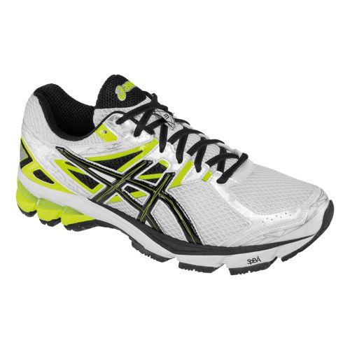 Mens ASICS GT-1000 3 Running Shoe - White/Black 9.5