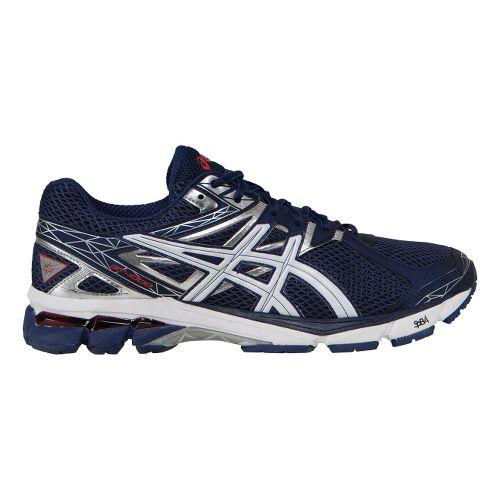 Mens ASICS GT-1000 3 Running Shoe - Carbon/Flash Green 16