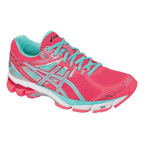 Womens ASICS GT-1000 3 Running Shoe - Pink/Ice Blue 11.5