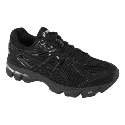 Womens ASICS GT-1000 3 Running Shoe - Onyx/Black 7.5