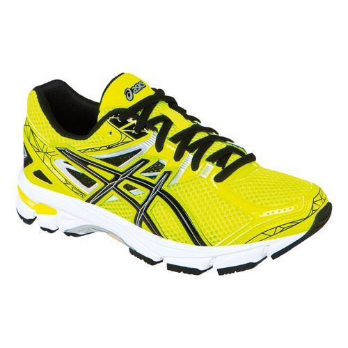 Kids ASICS GT-1000 3 GS Running Shoe - Flash Yellow/Black 6.5
