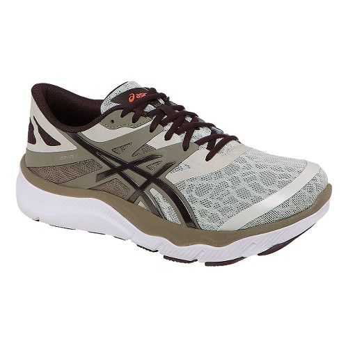 Mens ASICS 33-M Running Shoe - Khaki/Coffee 11