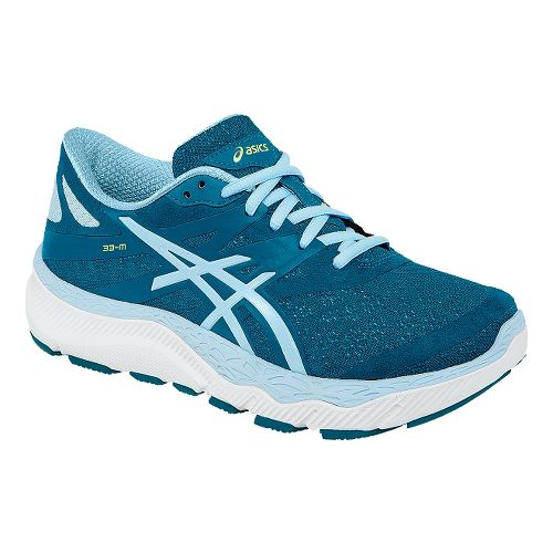 Womens ASICS 33-M Running Shoe - Blue/Light Blue 10.5