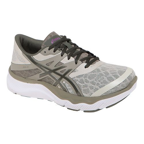Womens ASICS 33-M Running Shoe - Olive/Khaki 10.5