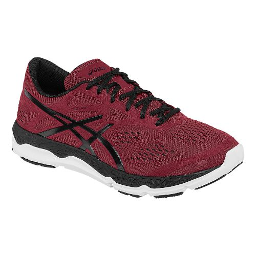 Mens ASICS 33-FA Running Shoe - Red/Black 14
