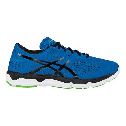 Mens ASICS 33-FA Running Shoe - Blue/Black 12.5