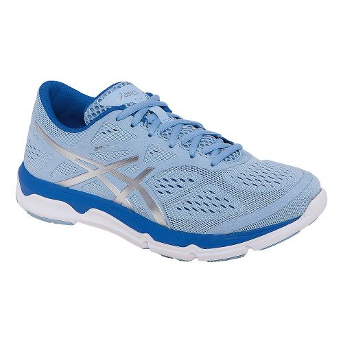 Womens ASICS 33-FA Running Shoe - Blue/Lightning 9.5