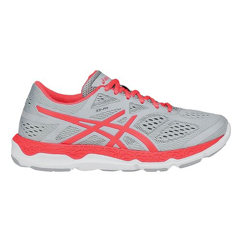 Womens ASICS 33-FA Running Shoe - Black/Hot Pink 9.5