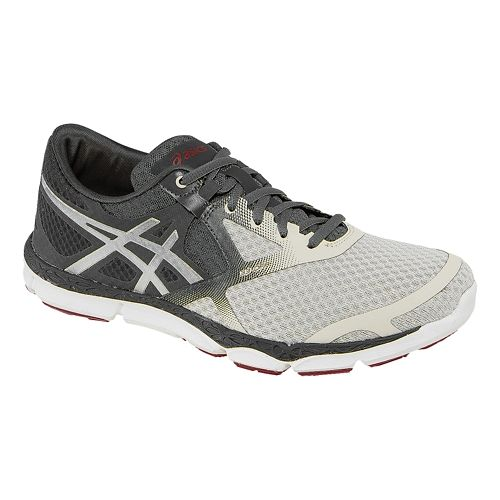 Mens ASICS 33-DFA Running Shoe - Grey/Silver 8