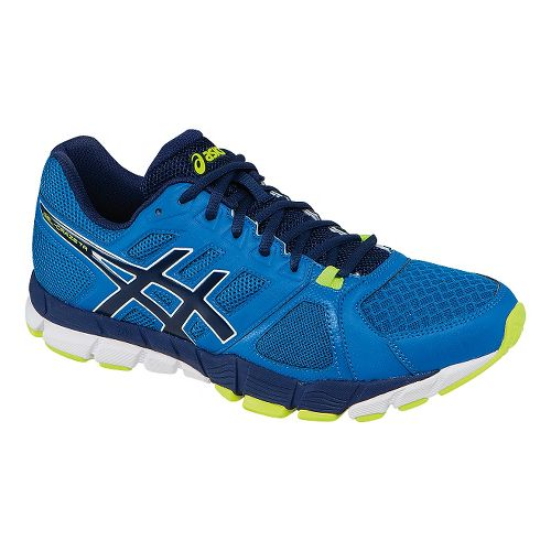 Mens ASICS GEL-Craze TR 2 Cross Training Shoe - Blue/Yellow 8