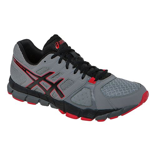 Mens ASICS GEL-Craze TR 2 Cross Training Shoe - Grey/Red 7.5