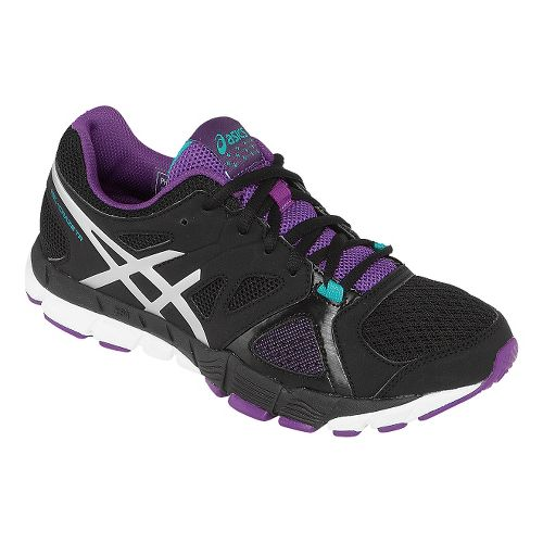 Womens ASICS GEL-Craze TR 2 Cross Training Shoe - Black/Purple 8.5