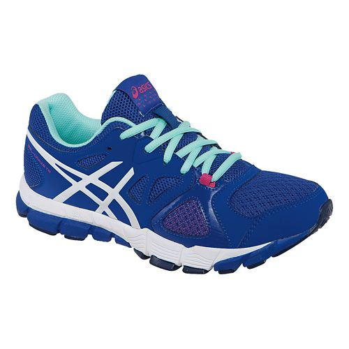 Womens ASICS GEL-Craze TR 2 Cross Training Shoe - Blue/White 10.5