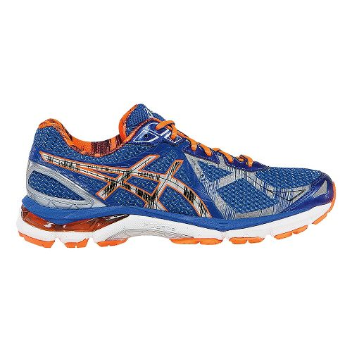 Mens ASICS GT-2000 3 Lite-Show Running Shoe - Blue/Orange 15