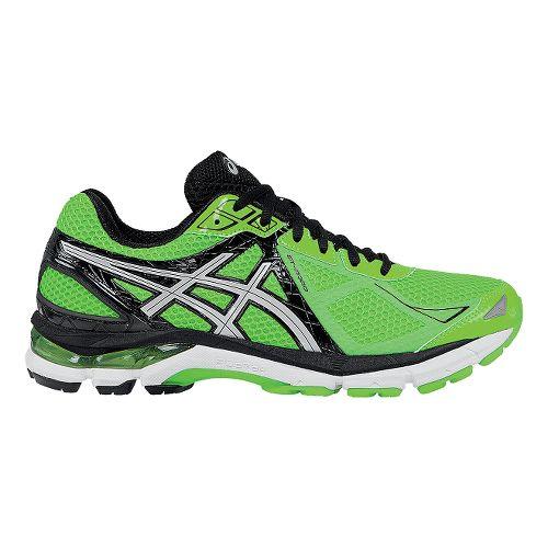 Mens ASICS GT-2000 3 Running Shoe - Green/Black 7.5