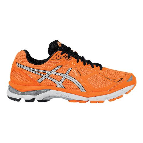 Mens ASICS GT-2000 3 Running Shoe - Orange/Black 9
