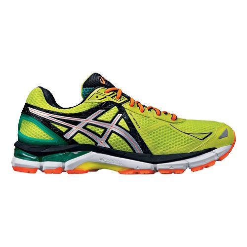 Mens ASICS GT-2000 3 Running Shoe - Flash Yellow 8.5