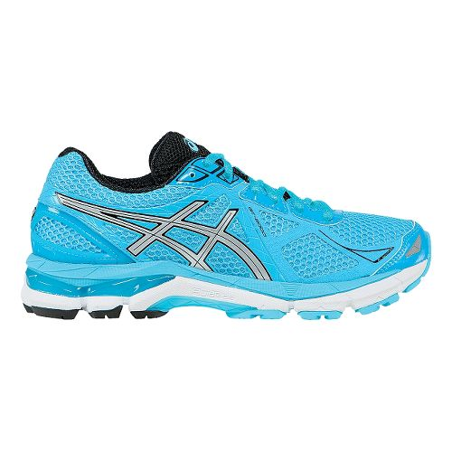 Womens ASICS GT-2000 3 Running Shoe - Turquoise/Silver 13