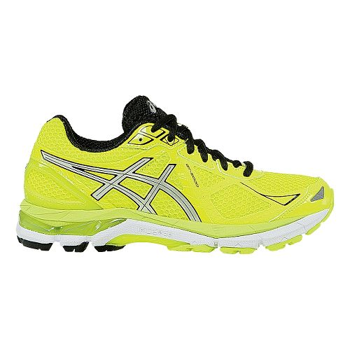 Womens ASICS GT-2000 3 Running Shoe - Flash Yellow/Black 5